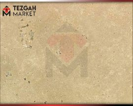 Denizli Travertine Cream Cross Cut 500 | Mermer Tezgah Fiyatlari Ankara